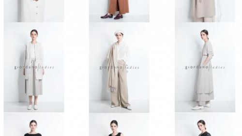 giordano ladies 2019秋冬,闪耀依旧