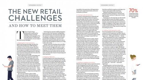 """零售商打破传统模式,增强体验吸引""""千禧一代"""""""