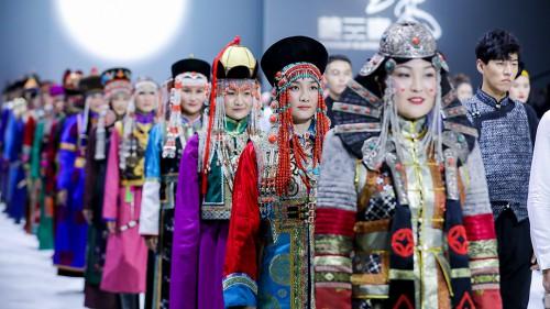 讓蒙元素與世界對話:蒙元素首登中國國際時裝周
