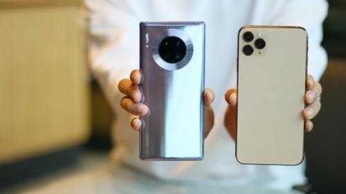 老果粉棄iPhone11換華為Mate30 5G,決不將就用4G!