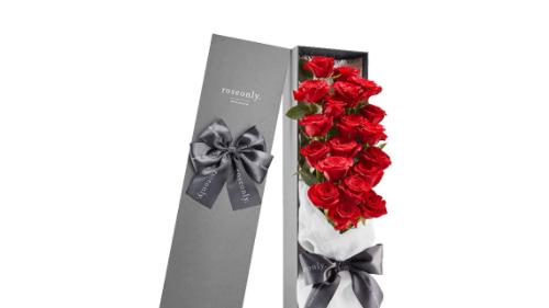 roseonly浪漫圣诞爱礼 以真爱赴我们的二人之约