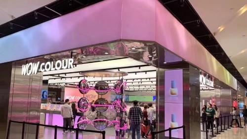 HOF色彩之源入駐全新時尚美妝集合店WOW COLOUR