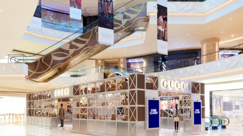 澳门首发Gucci Pin Mickey Mouse期间限定店登陆「澳门银河」