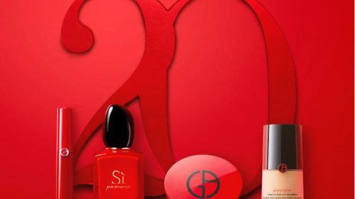 天貓超級品牌日助陣阿瑪尼美妝20周年慶典,美妝潮流再定義