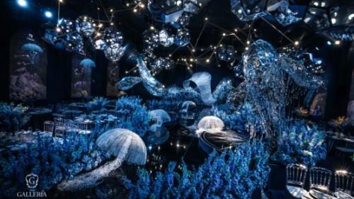 格乐利雅艺术中心实力宠粉 2020年原创设计师<The Ocean>系列华美绽放