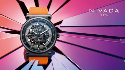 尼維達NIVADA絢翼系列,鏤空簡約品鑒機械之美