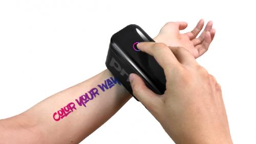炫酷黑科技来袭!Prinker(普瑞客)一次性纹身机,你的夏季时髦利器