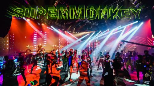 让热爱发光,「超级猩探」年度运动派对燃爆上海