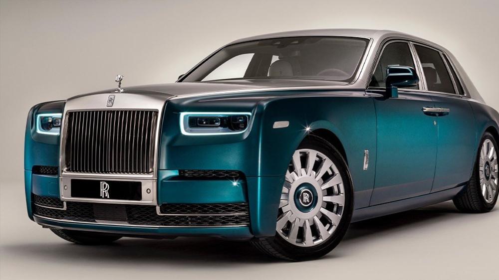 劳斯莱斯全新Phantom定制车款 Iridescent Opulence