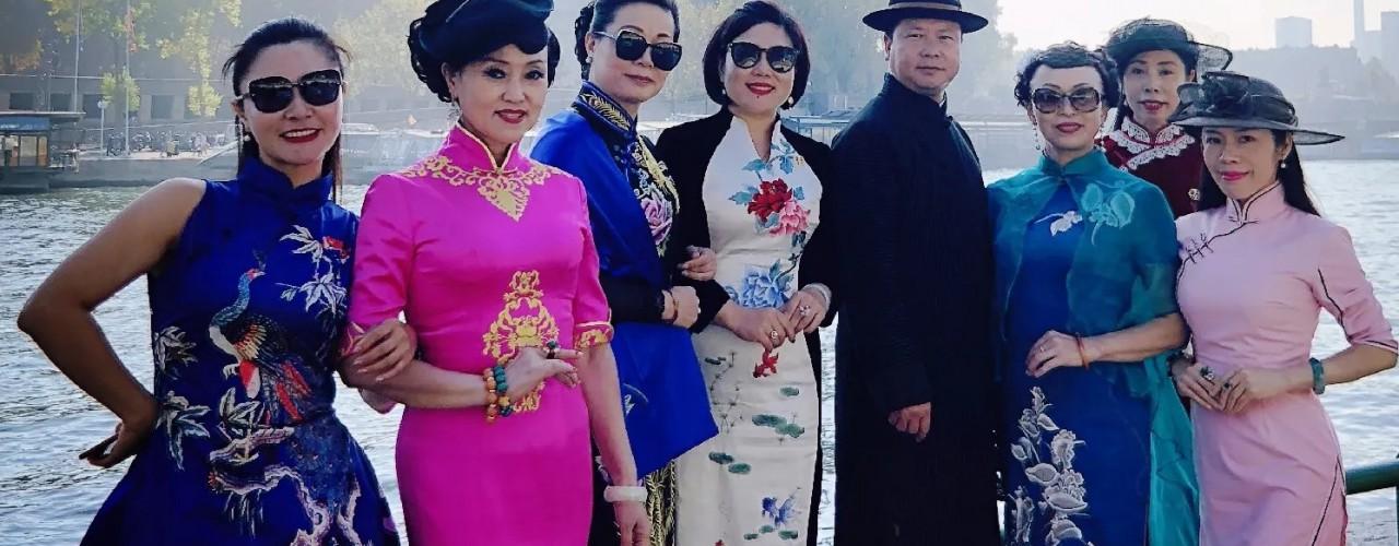 齊譽,行走世界的華服文化傳播者