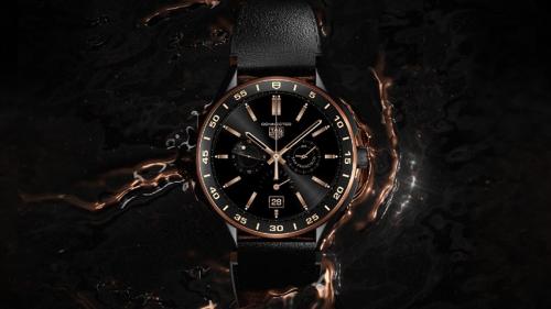 奢华智能腕表耀世而来: TAG HEUER泰格豪雅CONNECTED智能腕表耀黑版