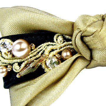 珍珠公主蝴蝶结发夹