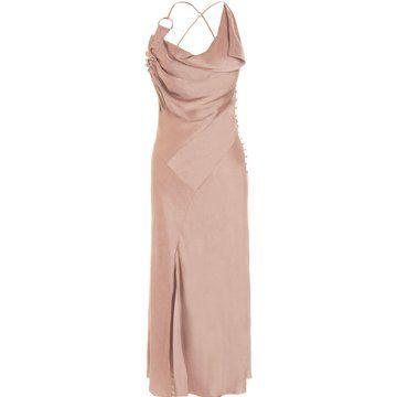 粉红色鸡尾酒礼服