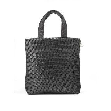 黑色编织手提包