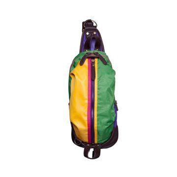彩色帆布背包