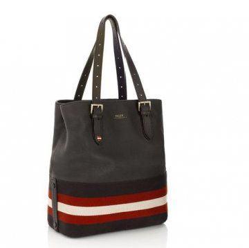 黑色红白手拎包