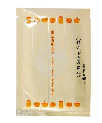 我的美丽日记南法杏桃面膜