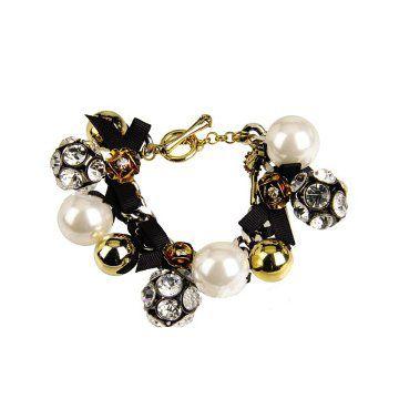 镶珍珠手链