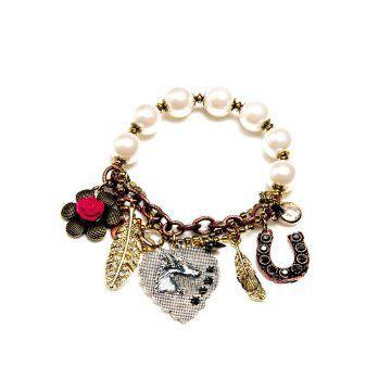 珍珠Charms手链
