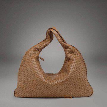 2011早春浅棕色羊皮大号编织女士肩背包单肩包女士手袋
