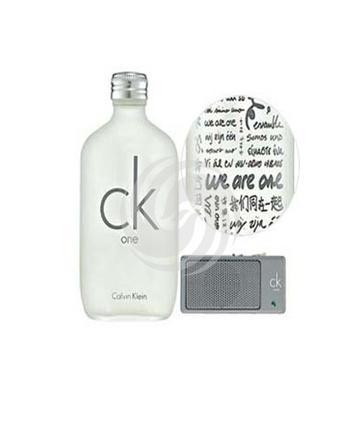卡尔文克莱恩中性淡香水MP3播放器限量版