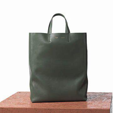 橄榄绿羊皮手提包