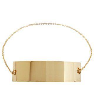 Plaque黄铜项链