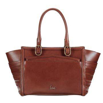 棕色牛皮手提包
