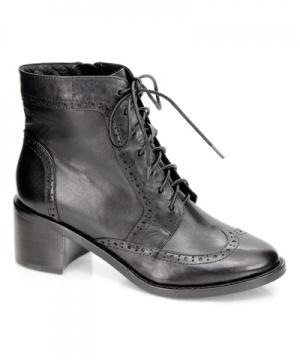 英伦骑士 块状跟短靴6849-0017