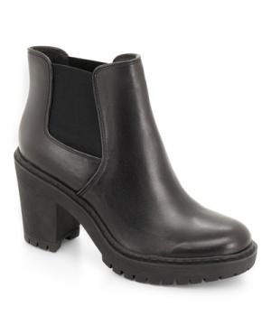 弹性精神 橡胶跟短靴6597-0017