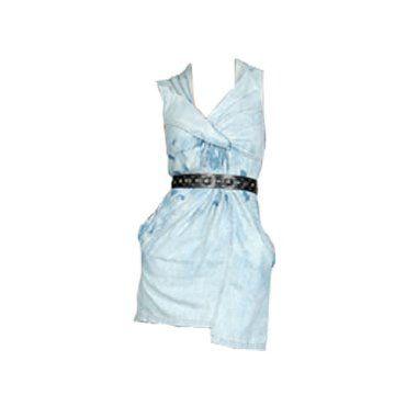 水洗连身裙