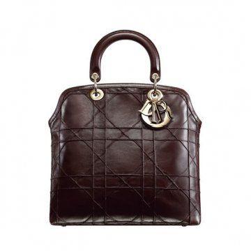 GRANVILLE巧克力色手提包