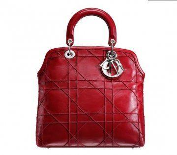 Granville红色手提包