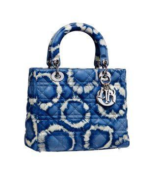 Lady Dior印花藤格纹手袋