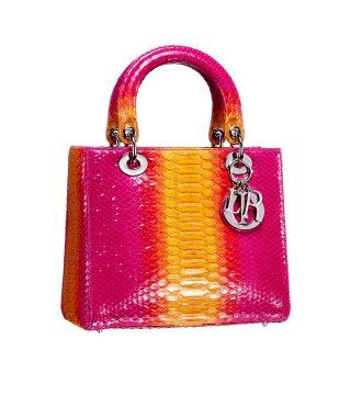 Lady Dior荧彩手袋