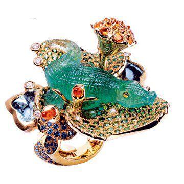 Coffret de victoire 系列鳄鱼戒指