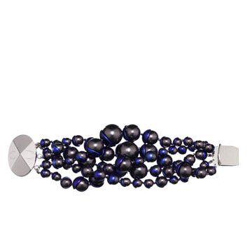 海蓝色珠串手链