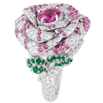 Rose Dior Bagatelle戒指