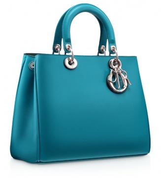 Turquoise皮革手提包