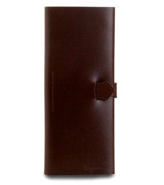 棕色长钱夹