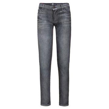 淡蓝色牛仔裤