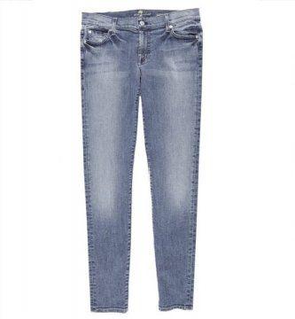浅蓝色长裤