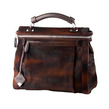 棕色纹理手拎包