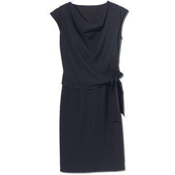 黑色套装连衣裙
