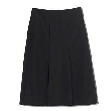 黑色及膝裙