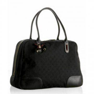 黑色双G Princy大号手提包