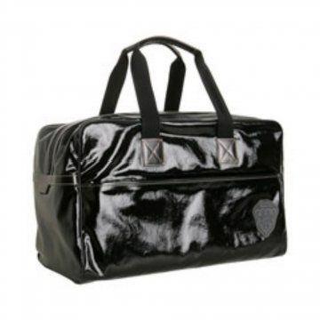 黑色斜纹手提包