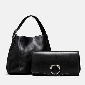 黑色牛皮手提包