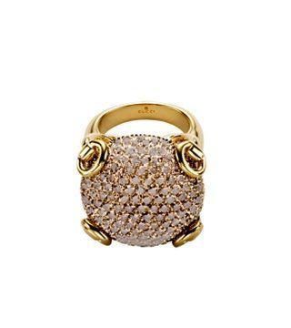 Horsebit系列钻石戒指