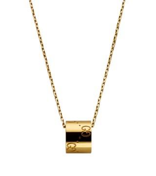 ICON系列黄金吊坠项链